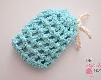 Easy Mesh Soap Saver - Crochet Pattern