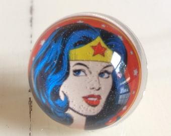 Wonder Woman Ring - Wonder Woman - Comic ring - Wonder Woman Jewelry - Retro Wonder Woman - Superhero - Superhero Ring - Superhero Jewelry