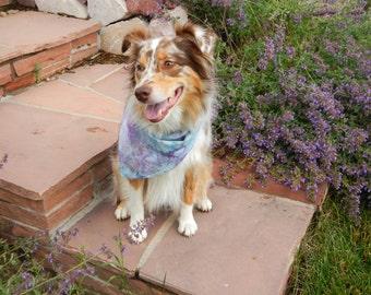 Ice Dyed - Tie Dyed - Dog Bandana