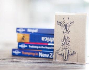 Giraffe Passport Cover