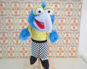 Disney Muppet Rare complete hand puppet muppet show the great Gonzo