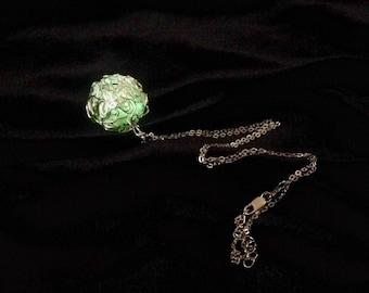 Glow In The Dark Necklace Silver Glow In the Dark Jewelry