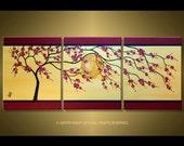 Red Blossom Tree- Custom listing for Dave