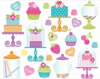 Candyland clipart | Etsy