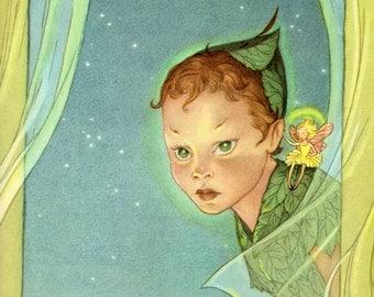 Peter Pan (Abridged Version) by J.M. Barrie, illustrated by Marjorie Torrey