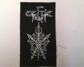 CELTIC FROST  Patch on Black Canvas