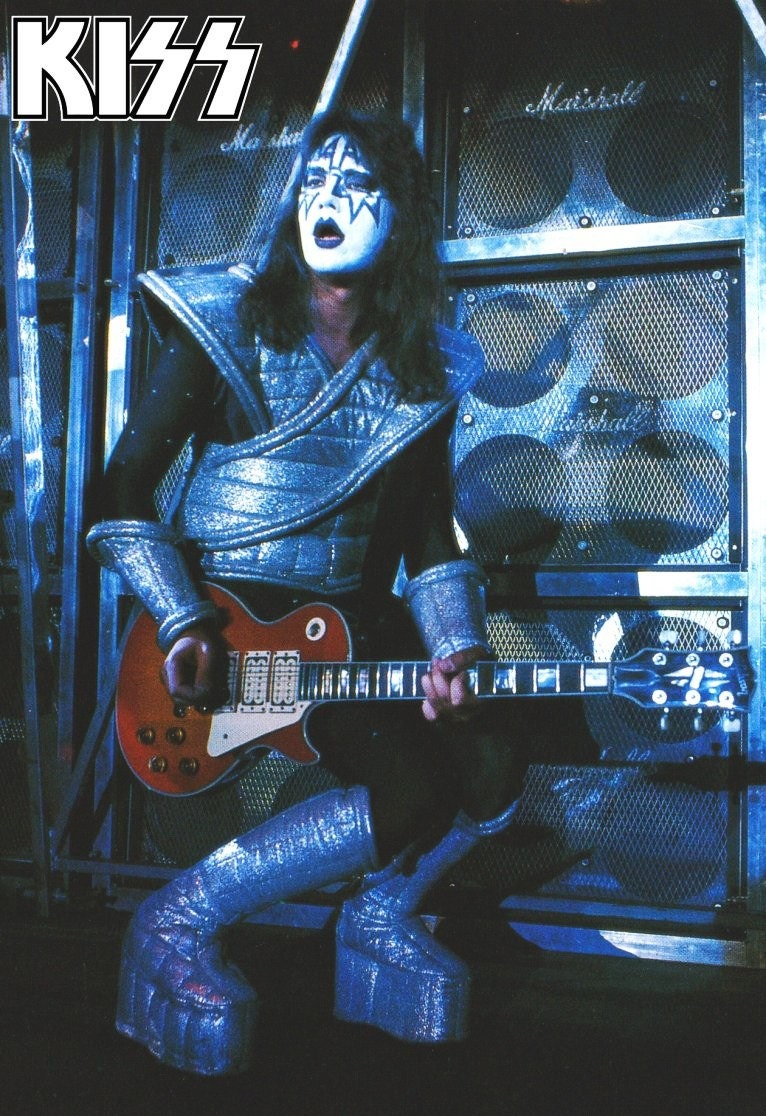 KISS Alive II Ace Frehley Live Stage Stand-Up Display KISS