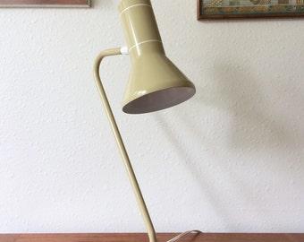 Vintage 70s Metal Task Lamp