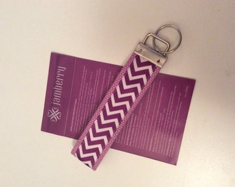 Jamberry Giveaway Gift Jam colors Purple Key Fob Key Chain
