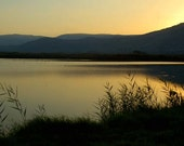 Sunset Photography - The Sea of Galilee
