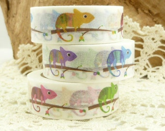 Colorful Chameleon Washi Tape - EE1805