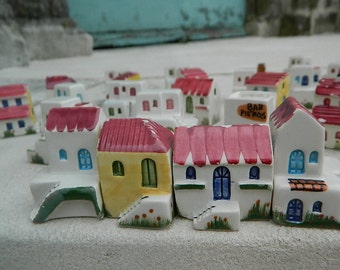 38 Small houses for ceramic model