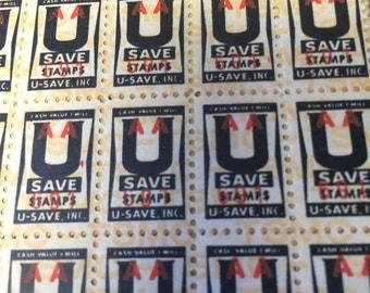 U Save Stamps