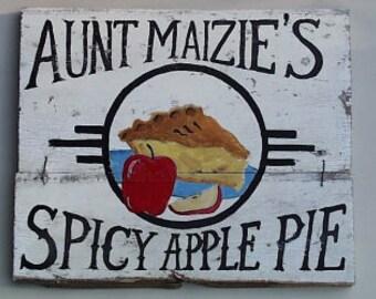 Apple Pie Sign...Customize It