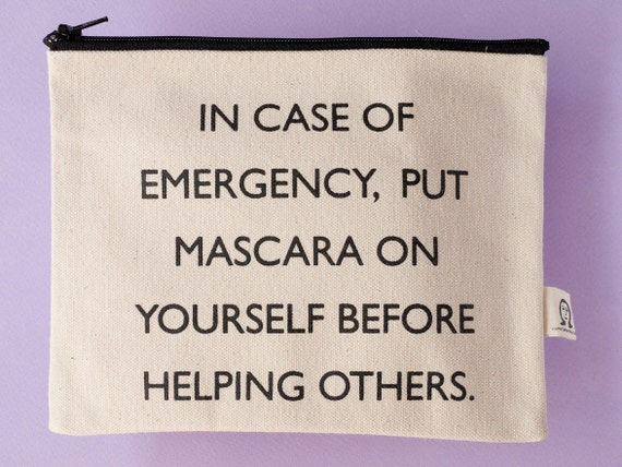 mascara pouch