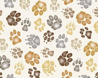 Elizabeth's Sutdio fabric CAT PAWS
