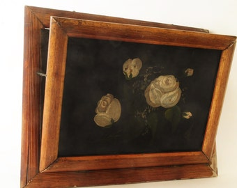 Victorian Painting and Wood Vent Cover