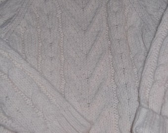 Childs cable knit sweater, fishermens sweater, cute unique, outstanding size 5 T