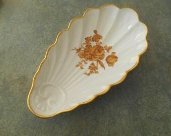 Vintage Shell Mint Dish Castel Limoges France
