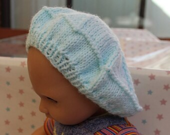 Knitted Dolls Beret