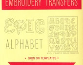 Alphabet Embroidery Designs | Sublime Stitching Epic Alphabet Iron On Transfer Embroidery Pattern Monogram Embroidery Fonts Hand Embroidery