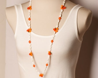 1970s Fruit Bead Necklace