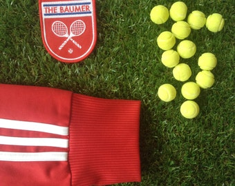 Wes Anderson inspired The Royal Tenenbaums The Baumer iron-on fan patch