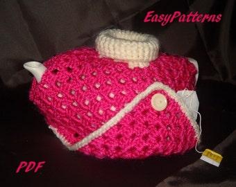 Poncho tea cozy cosy pattern