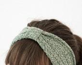 Maria | Headband - forrest green