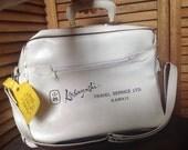Vintage Kobayashi Travel Service Ltd Hawaii Carry On Luggage Bag