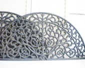 Large Ornate Cast Iron Architectural Wall Hanging Decorative Metal Over The Door Ornament Headboard Price Per Panel Wall Decor Entryway 1
