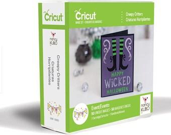 CREEPY CRITTERS - CRiCUT Cartridge - for All Cricut Machines ~  New for HALLOWEEN !!