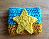 Pearl Inspired Crochet Coffee Cozy - Coffee Sleeve - Steven Universe Inspired - Wristband