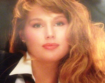Playboy Centerfold/Poster from April, 1989 Playboy Magazine