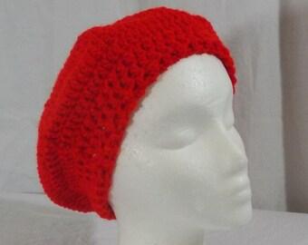 Crochet Red Beret