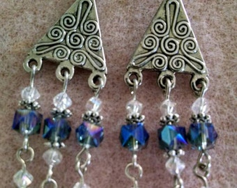 Sapphire Beauty Earrings