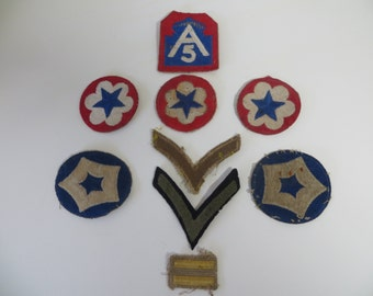 WW2 ARMY Patches