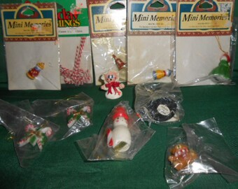 Collection Of Christmas Miniatures