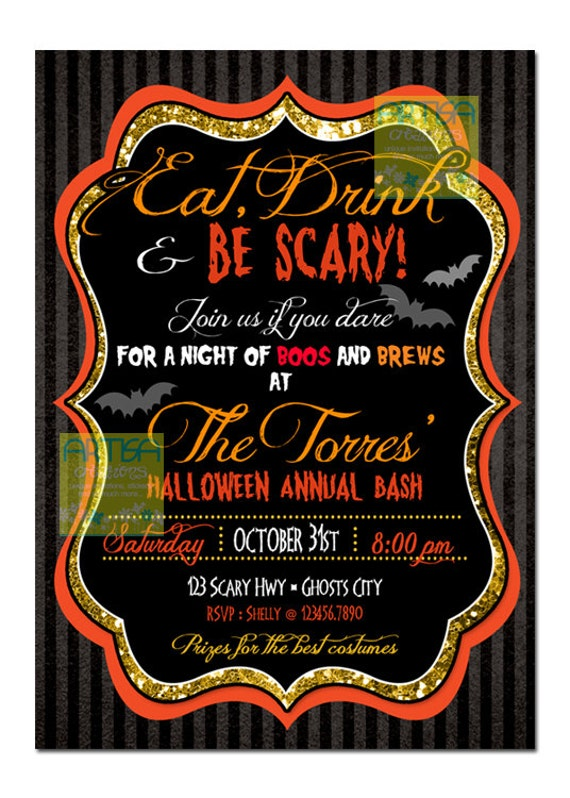 scary adult halloween cards