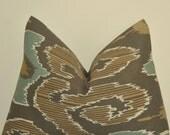 Ikat Pillow, Pillow Cover, Decorative Pillow, Throw Pillow, Toss Pillow, Sofa Pillow, Home Welcoming, Home Furnishing, Home Decor