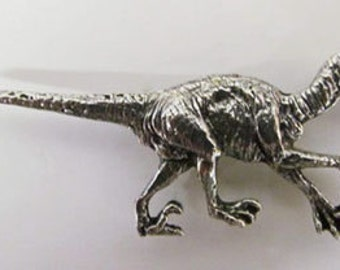 Pewter - Velociraptor - Lapel Pin/Brooch - A188,AC188,AP188A