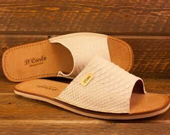 Genuine Python Sandals For Men
