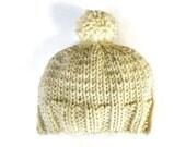 Super chunky knit pom pom beanie hats skull caps beanies unisex toque women's winter accessories handmade
