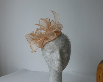 Pink Beaded Fascinator REDUCED