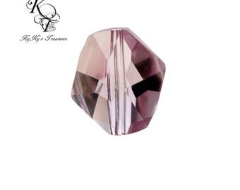 Swarovski Crystal Bead, Purple Crystal, Amethyst Crystal, Swarovski Crystals, Cosmic Crystals, Jewelry Supplies