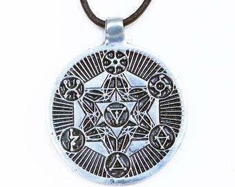 Guide Archangel Sacred Geometry pendant