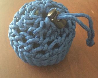 Paracord pouch etsy for Paracord drawstring bag