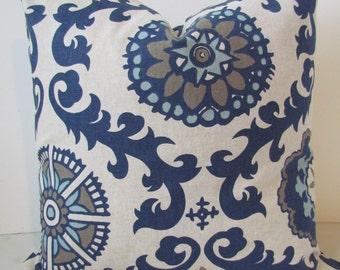 BLUE THROW PILLOWS Blue Pillow Covers Dark Blue Pillows Blue