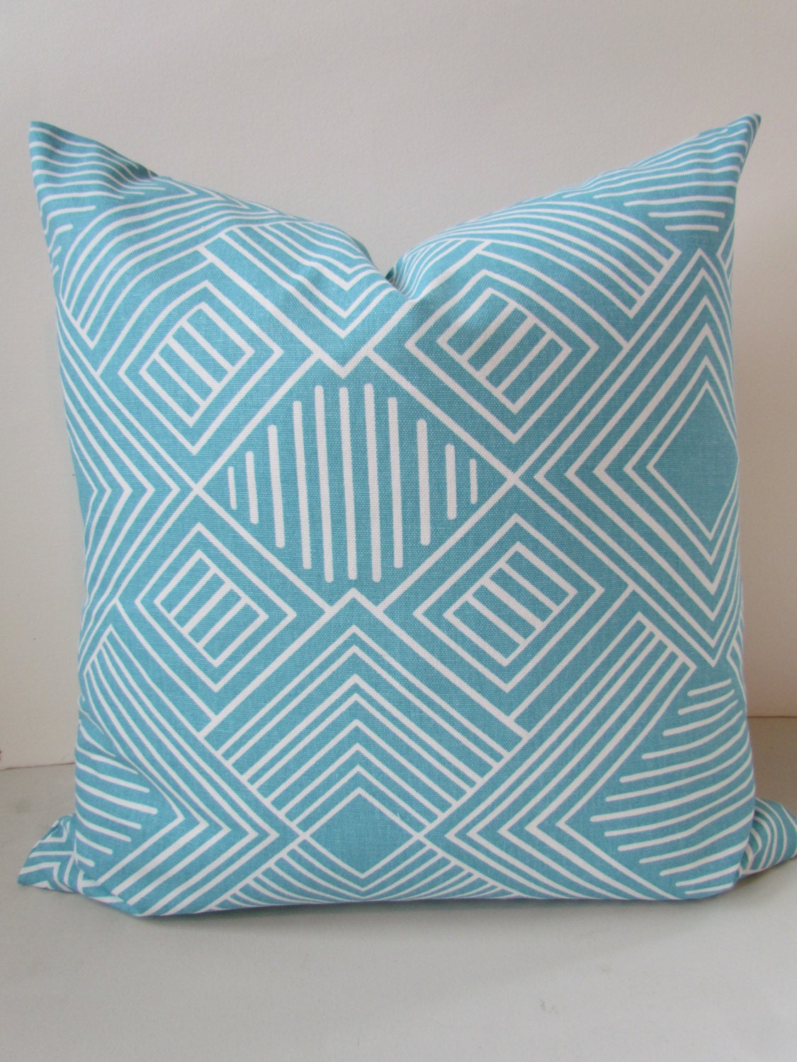 Turquoise Throw Pillows Covers : Turquoise PILLOW Covers Turqouise Throw Pillows Aqua Blue