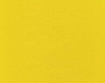 Solid Yellow cotton fabric - Zest Soho Solids - Timeless Treasure - YARD